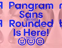 Pangram Sans Rounded - Free Font