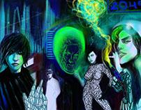 Cyberpunk Noir