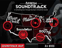 Soundtrack Interactive Map