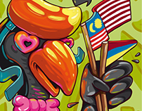 Hornbill illustration
