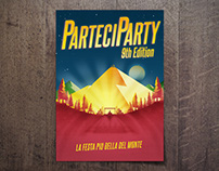 Parteciparty 9th Edition // Event Identity