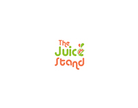 "FRESH logo for ""The Juice Stand"""