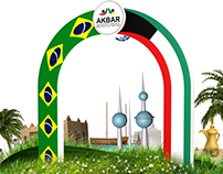 Kuwait Garden Project in Brazil
