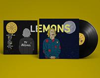 Ty Segall - Lemons, album cover redesign.