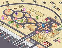 Ghada Festival map