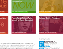 Center for Science and the Imagination Website