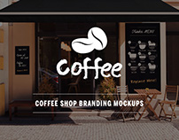 13 PSD Coffee Shop Mockups