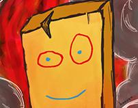 Burning Plank