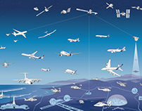 Airbus aircraft poster graphic