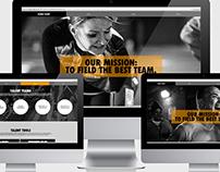 Nike Global Talent Website