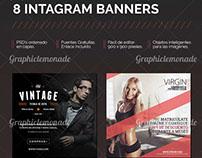 8 Banners Creativos para Instagram
