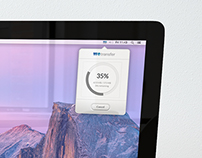 WeTransfer Mac App Concept