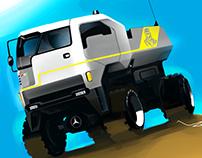 Sketch Book - Dakar Truck
