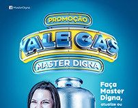 Promoção Vale Gás - Master Digna