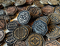 Ephemerid - the metal coins