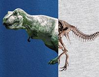 Spliced Dino - T-shirt Project