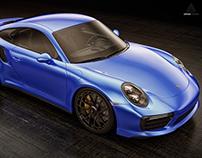 Porsche 911 Turbo S (2016) Studio shoots