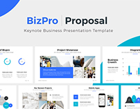 BizPro | Proposal Keynote Business Template + Bonus