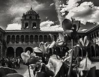 #Landscape Central Qorikancha / Cuzco