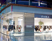 The Zara pop-up store in London Courtesy Photo
