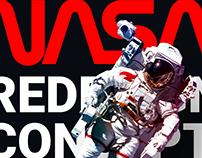 NASA. Концепт редизайна главной страницы