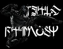 Wakanda Calligraphy