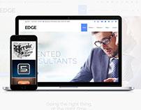 Edge Portfolio and Business WordPress Theme