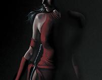 Elektra - Gouache
