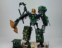 Mecha from military vehicles