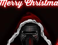 "Santa ""Kylo Ren"" Claus"