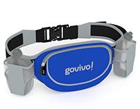 (3D Render) Govivo - Running Hydration Belt
