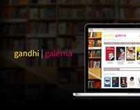 Gandhi/Galerna diseño website