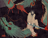 Yamata No Orochi -from the oldest chronicles of Japan