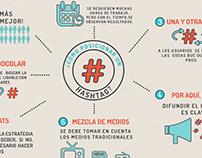 Infografía ¿Cómo posicionar un Hashtag?