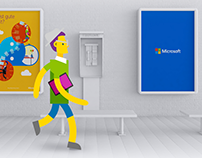 Microsoft // THE NEW WORKING EXPERIENCE // Keyvisual