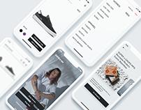 Supra Footwear — redesign – app concept