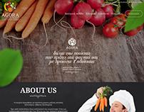 Agora Fresh Webpage