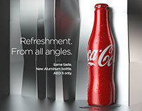 Coca-Cola New Aluminum Bottle Launch