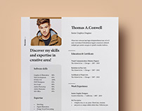 Resume Template Vol-08 [Free]
