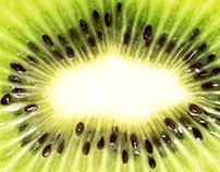Kiwi and pineapple wallpeprs