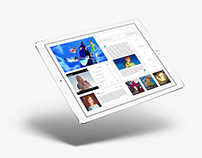 Design Process / Tablet