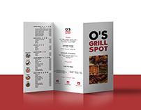 O's Grill Spot Rebrand