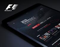 F1 Web Site Redesign