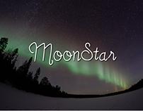 MoonStar Script Font