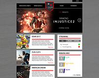 PiFighter League - Design Web