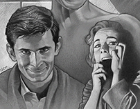"""Alfred Hitchcock's """"Psycho"""" (1960)"""