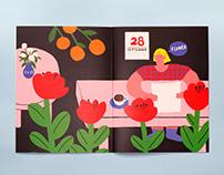 Self-Publishing Zine - flower 自出版Zine《flower》