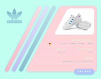 Adidas Originals Holographic Concept