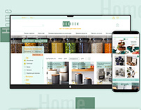 Design online shop