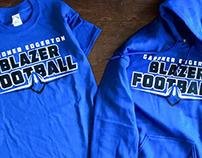 Gardner Edgerton Football Shirt Design